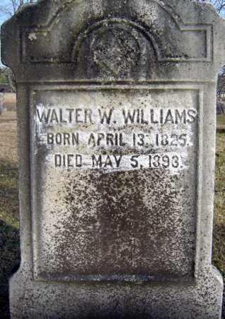 WILLIAMS, WALTER W - Saratoga County, New York | WALTER W WILLIAMS - New York Gravestone Photos