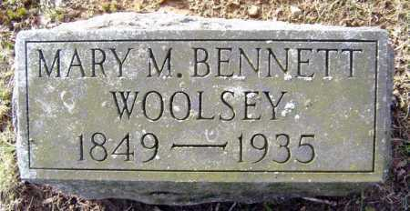 BENNETT, MARY M - Saratoga County, New York | MARY M BENNETT - New York Gravestone Photos