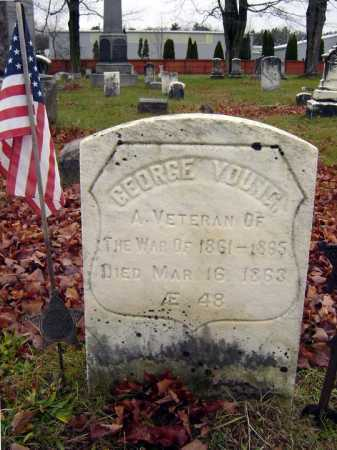 YOUNG (CW), GEORGE - Saratoga County, New York | GEORGE YOUNG (CW) - New York Gravestone Photos