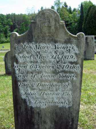 HOWLELL YOUNGS, MARY - Saratoga County, New York | MARY HOWLELL YOUNGS - New York Gravestone Photos