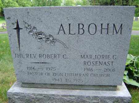 ALBOHM, MARJORIE G - Schenectady County, New York | MARJORIE G ALBOHM - New York Gravestone Photos