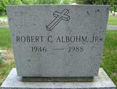 ALBOHM, ROBERT C - Schenectady County, New York | ROBERT C ALBOHM - New York Gravestone Photos