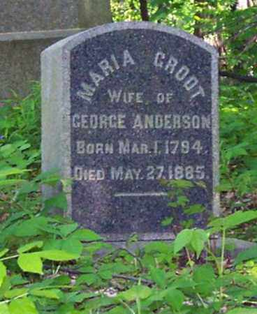 GROOT, MARIA - Schenectady County, New York | MARIA GROOT - New York Gravestone Photos