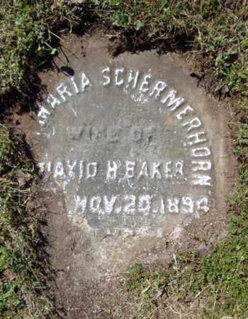 SCHERMERHORN, ANNA AARIA - Schenectady County, New York | ANNA AARIA SCHERMERHORN - New York Gravestone Photos
