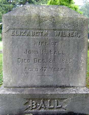 BALL, ELIZABETH - Schenectady County, New York | ELIZABETH BALL - New York Gravestone Photos