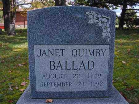 QUIMBY, JANET - Schenectady County, New York | JANET QUIMBY - New York Gravestone Photos