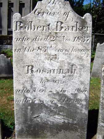BARKER, ROBERT - Schenectady County, New York | ROBERT BARKER - New York Gravestone Photos