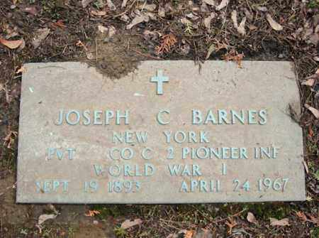 BARNES (WWI), JOSEPH C - Schenectady County, New York | JOSEPH C BARNES (WWI) - New York Gravestone Photos