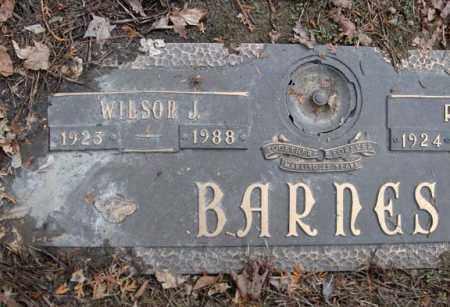 BARNES, WILSON J - Schenectady County, New York | WILSON J BARNES - New York Gravestone Photos