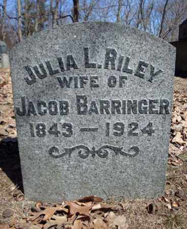 BARRINGER, JULIA L - Schenectady County, New York | JULIA L BARRINGER - New York Gravestone Photos