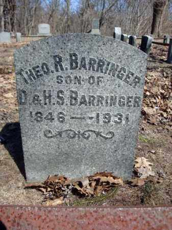 BARRINGER, THEO R - Schenectady County, New York   THEO R BARRINGER - New York Gravestone Photos