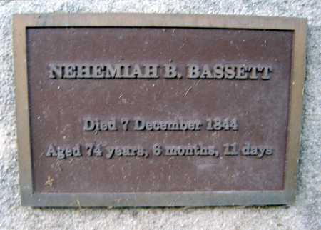 BASSETT, NEHEMIAH B - Schenectady County, New York | NEHEMIAH B BASSETT - New York Gravestone Photos