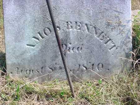 BENNETT, AMOS - Schenectady County, New York | AMOS BENNETT - New York Gravestone Photos
