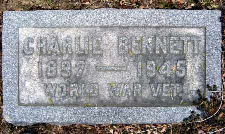 BENNETT, CHARLIE - Schenectady County, New York | CHARLIE BENNETT - New York Gravestone Photos
