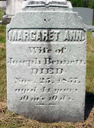 BENNETT, MARGARET ANN - Schenectady County, New York | MARGARET ANN BENNETT - New York Gravestone Photos
