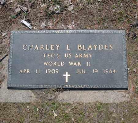 BLAYDES, CHARLEY L - Schenectady County, New York | CHARLEY L BLAYDES - New York Gravestone Photos