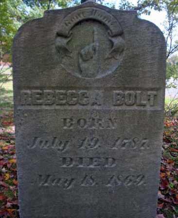 BOLT, REBECCA - Schenectady County, New York | REBECCA BOLT - New York Gravestone Photos