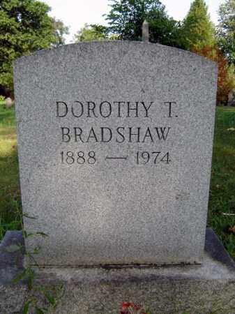 BRADSHAW, DOROTHY T - Schenectady County, New York | DOROTHY T BRADSHAW - New York Gravestone Photos
