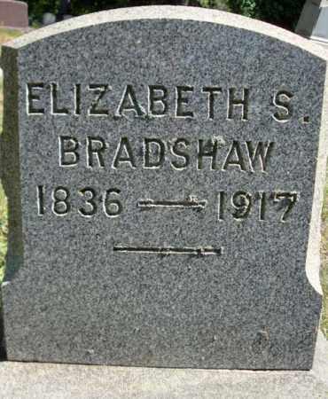 BRADSHAW, ELIZABETH S - Schenectady County, New York | ELIZABETH S BRADSHAW - New York Gravestone Photos