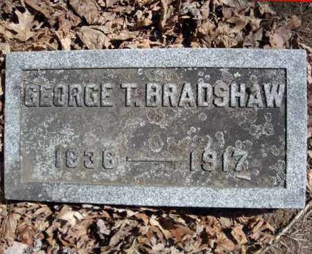 BRADSHAW, GEORGE T - Schenectady County, New York | GEORGE T BRADSHAW - New York Gravestone Photos