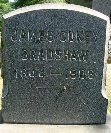 BRADSHAW, JAMES CONEY - Schenectady County, New York | JAMES CONEY BRADSHAW - New York Gravestone Photos