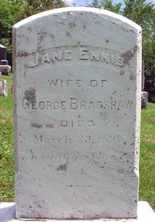 BRADSHAW, JANE - Schenectady County, New York   JANE BRADSHAW - New York Gravestone Photos
