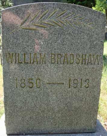 BRADSHAW, WILLIAM - Schenectady County, New York | WILLIAM BRADSHAW - New York Gravestone Photos