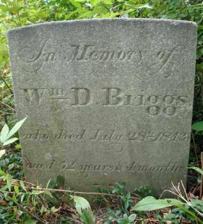BRIGGS, WILLIAM D - Schenectady County, New York   WILLIAM D BRIGGS - New York Gravestone Photos