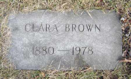 BROWN, CLARA - Schenectady County, New York | CLARA BROWN - New York Gravestone Photos