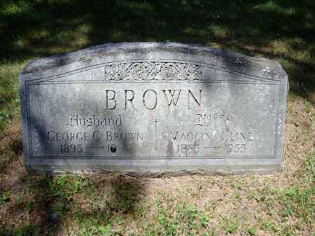 BROWN, MAOLIN - Schenectady County, New York | MAOLIN BROWN - New York Gravestone Photos