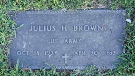 BROWN, JULIUS H - Schenectady County, New York | JULIUS H BROWN - New York Gravestone Photos