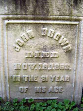 BROWN, JOHN - Schenectady County, New York | JOHN BROWN - New York Gravestone Photos