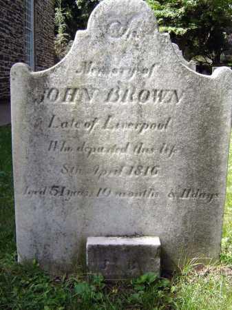 BROWN, JOHN - Schenectady County, New York   JOHN BROWN - New York Gravestone Photos