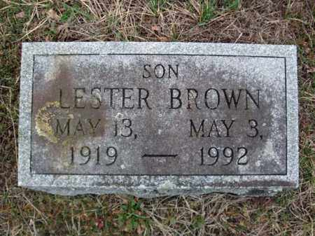 BROWN, LESTER - Schenectady County, New York | LESTER BROWN - New York Gravestone Photos
