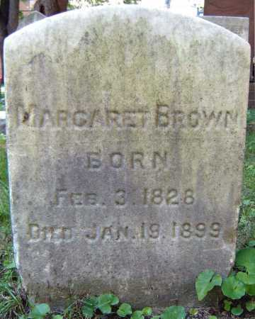 BROWN, MARGARET - Schenectady County, New York | MARGARET BROWN - New York Gravestone Photos