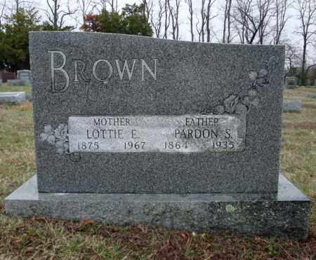 BROWN, PARDON S - Schenectady County, New York | PARDON S BROWN - New York Gravestone Photos