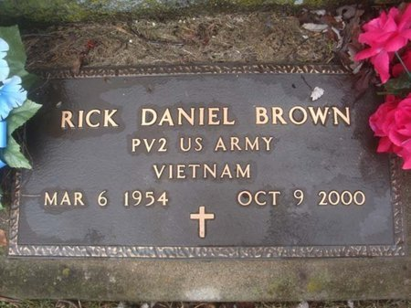 BROWN, RICK DANIEL - Schenectady County, New York | RICK DANIEL BROWN - New York Gravestone Photos