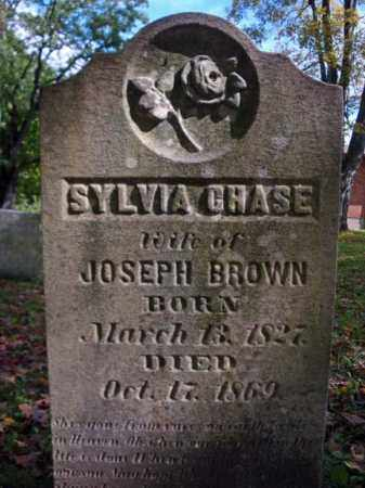 CHASE BROWN, SYLVIA - Schenectady County, New York | SYLVIA CHASE BROWN - New York Gravestone Photos