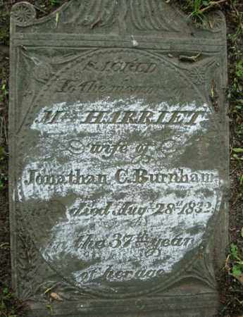 BURNHAM, M HARRIET - Schenectady County, New York | M HARRIET BURNHAM - New York Gravestone Photos