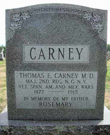 CARNEY (SA), THOMAS E - Schenectady County, New York | THOMAS E CARNEY (SA) - New York Gravestone Photos