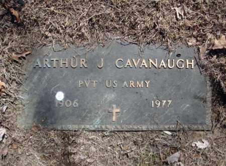 CAVANAUGH, ARTHUR J - Schenectady County, New York | ARTHUR J CAVANAUGH - New York Gravestone Photos
