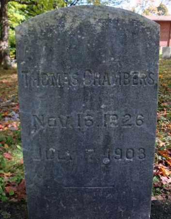 CHAMBERS, THOMAS - Schenectady County, New York | THOMAS CHAMBERS - New York Gravestone Photos