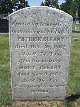 CLEARY, MARY - Schenectady County, New York | MARY CLEARY - New York Gravestone Photos