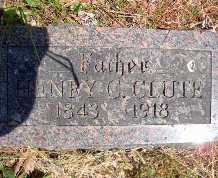 CLUTE, HENRY C - Schenectady County, New York | HENRY C CLUTE - New York Gravestone Photos