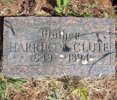 CLUTE, HARRIET A - Schenectady County, New York | HARRIET A CLUTE - New York Gravestone Photos