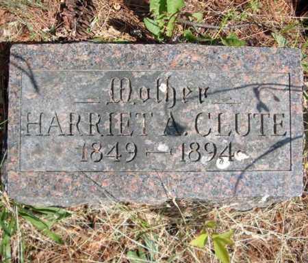 CLUTE, HARRIET A - Schenectady County, New York | HARRIET A CLUTE - New York Gravestone Photos