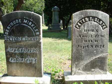 CLUTE, PETER F - Schenectady County, New York | PETER F CLUTE - New York Gravestone Photos