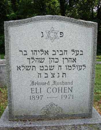 COHEN, ELI - Schenectady County, New York | ELI COHEN - New York Gravestone Photos