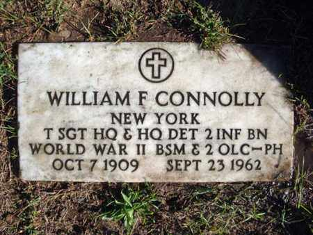 CONNOLLY (WWII), WILLIAM F. - Schenectady County, New York | WILLIAM F. CONNOLLY (WWII) - New York Gravestone Photos