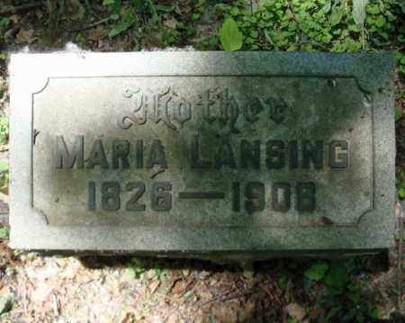 LANSING, MARIA - Schenectady County, New York | MARIA LANSING - New York Gravestone Photos